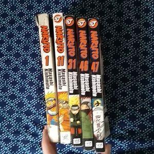 Naruto manga series